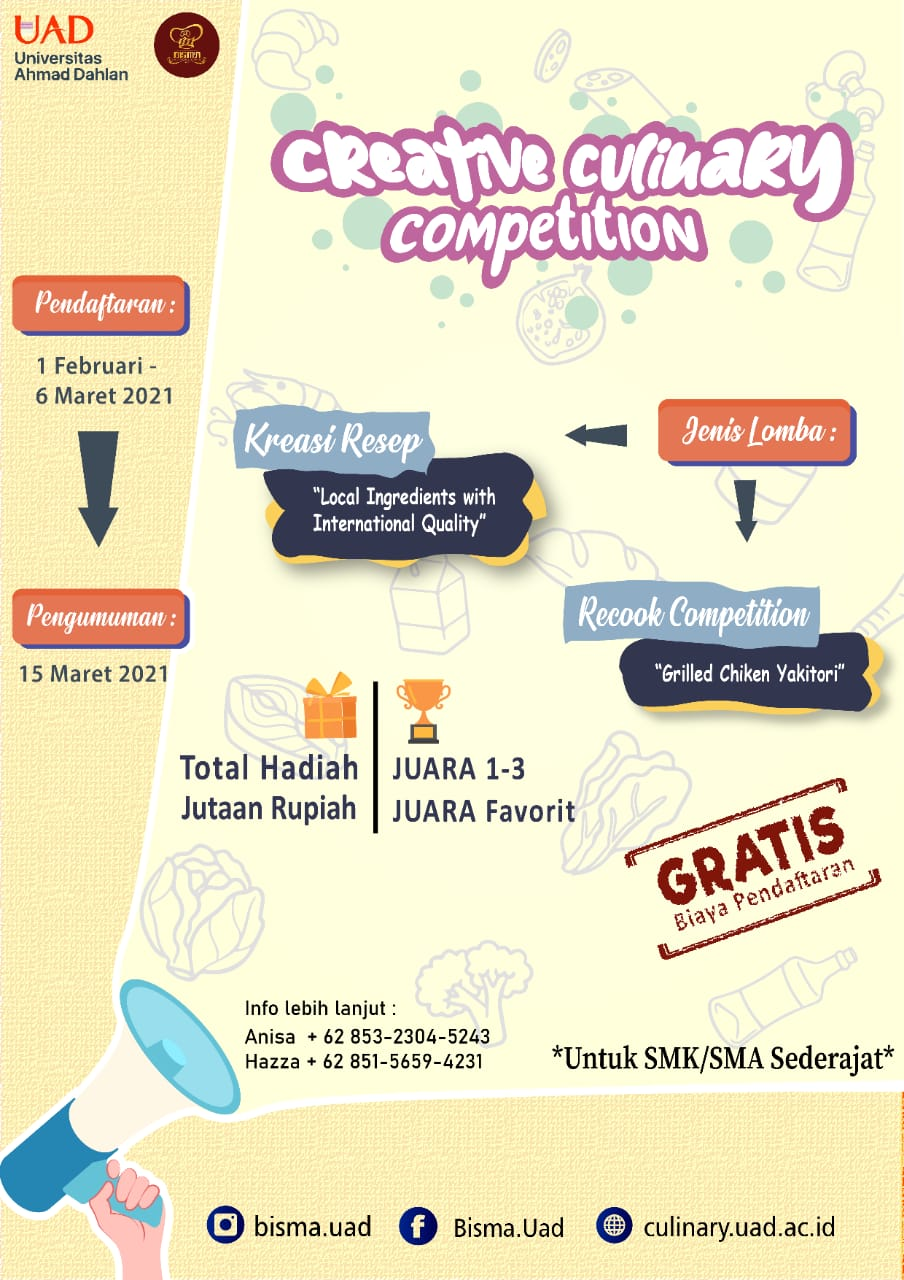 CREATIVE CULINARY COMPETITION